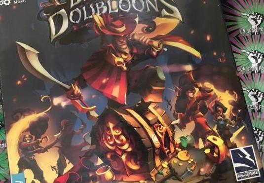 Dead man's doubloons (juego de mesa)