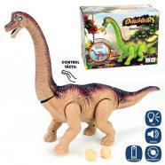 Dino brontosaurio anda luz y sonido 45cm