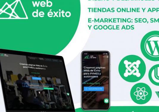 Desarrollo web, tiendas, app