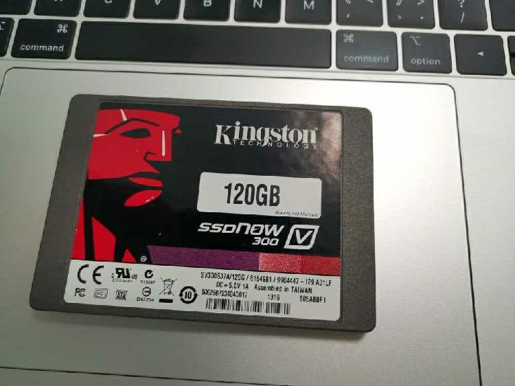 Disco sólido ssd 120gb kingston