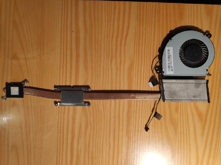 Disipador + ventilador toshiba