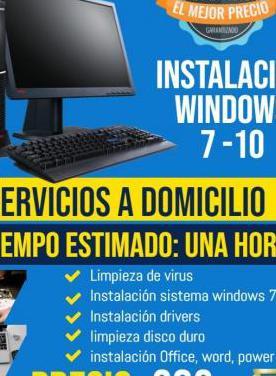 Instalación sistema operativo windows 10