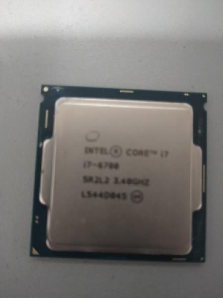 Intel core i7 6700 3.40ghz
