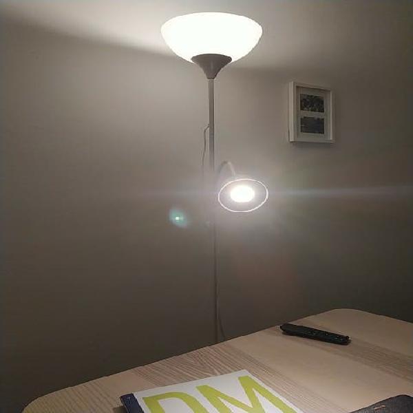 Lámpara ambiente + lectura ikea