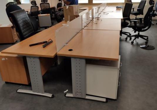 Mesa de oficina 1,40 x 60cm