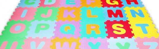 Suelo espuma eva con letras juego niños