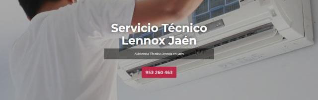 Servicio técnico lennox jaén 953274259