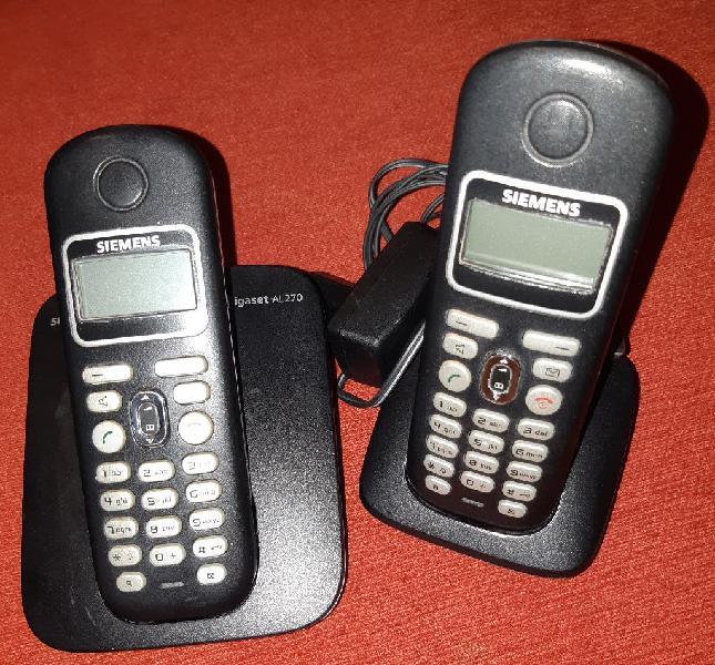Teléfonos inalámbricos siemens duo