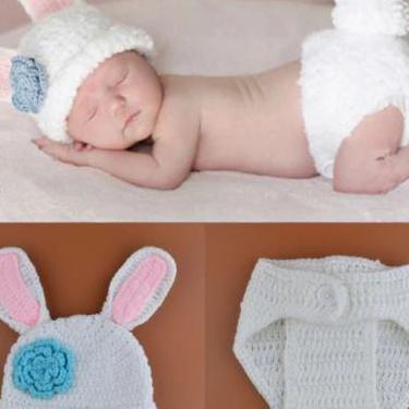 Traje de conejo para bebe