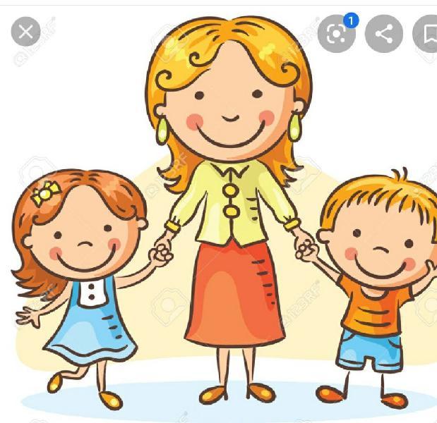 Busco chica para cuidar dos niños d 6 y 2 años