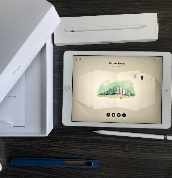 Ipad 6th generación 128gb + apple pencil