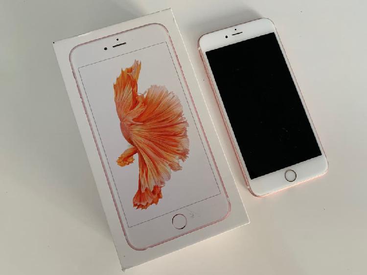 Iphone 6s plus 64 gbs oro rosa