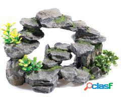 Classic for pets rocky arch / plants 265mm