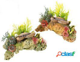 Classic for pets stone/crab & plants