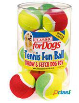 Classic for pets two tone tennis fun ball