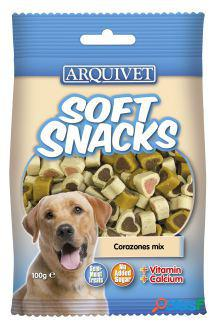 Arquivet soft snacks corazones mix 100 gr