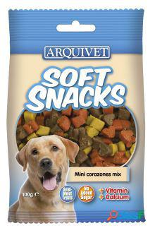 Arquivet soft snacks minicorazones mix 300 gr