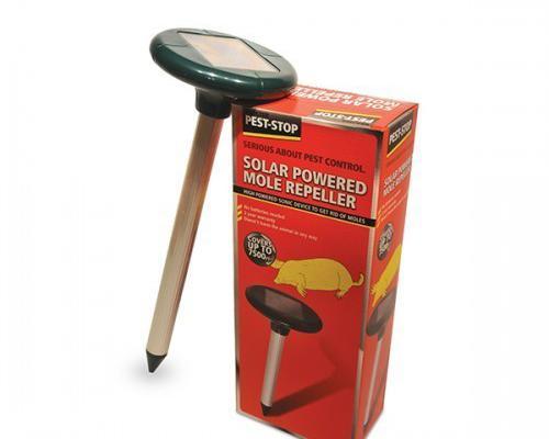 Ahuyentador repelente para topos solar