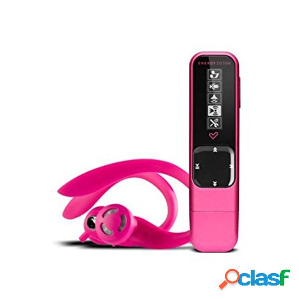 Reproductor mp3 energy active 2 4gb neon fuchsia