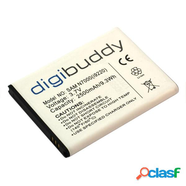 Bateria digibuddy para samsung galaxy note n7000, litio ion
