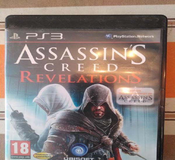 Assasins creed revelations juego ps3