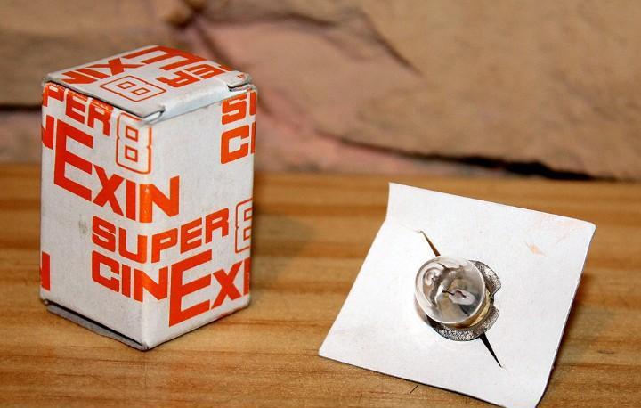 Cine exin - bombilla recambio en su caja original - nueva y