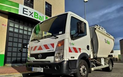 Camion basura satélite nissan cabstar - ref. 502