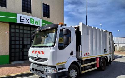 Camion recolector basura renault midlum ref.505