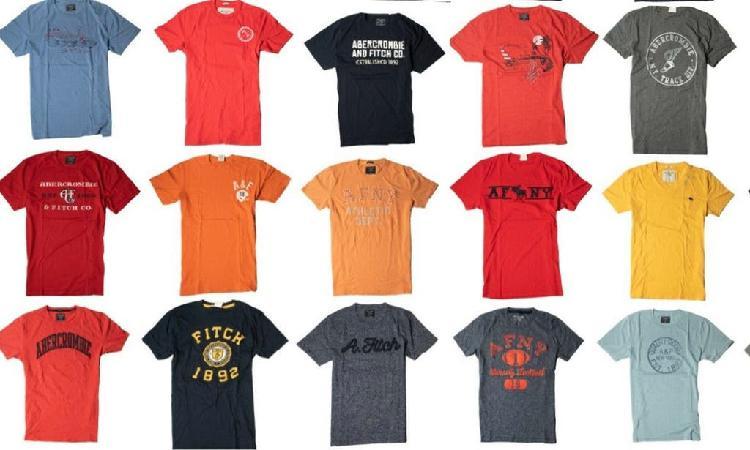 Camisetas y polos abercrombie