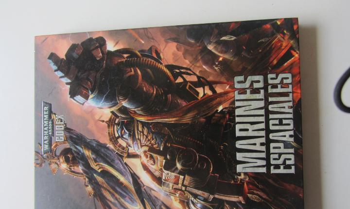 Fantasia warhammer codex marines espaciales tapa dura 2013