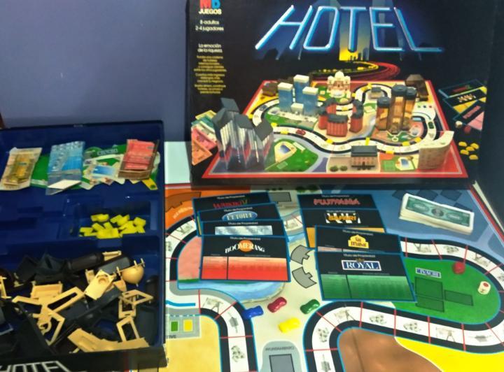 Hotel juego de mesa 1987 mb juegos
