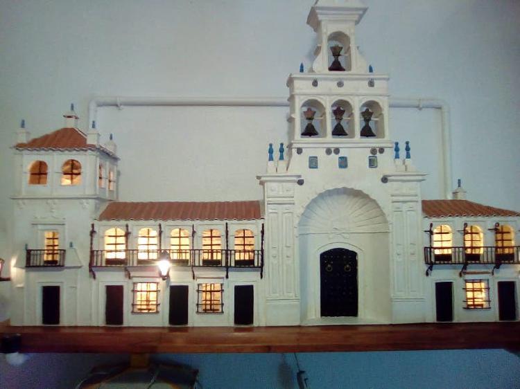 Iglesia de la virgen del rocío en huelva