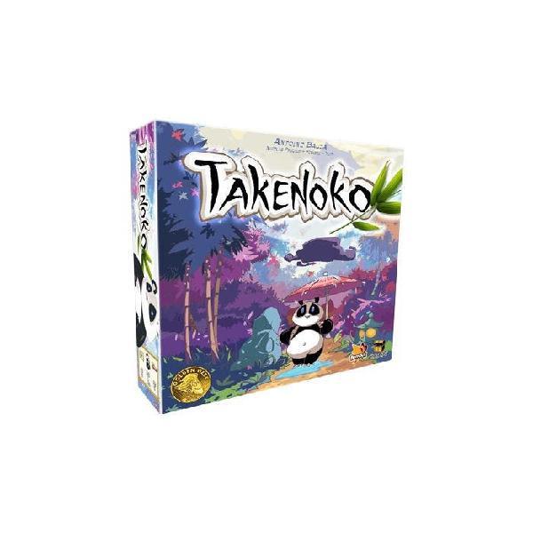 Juego mesa takenoko + expansión chibis nuevo