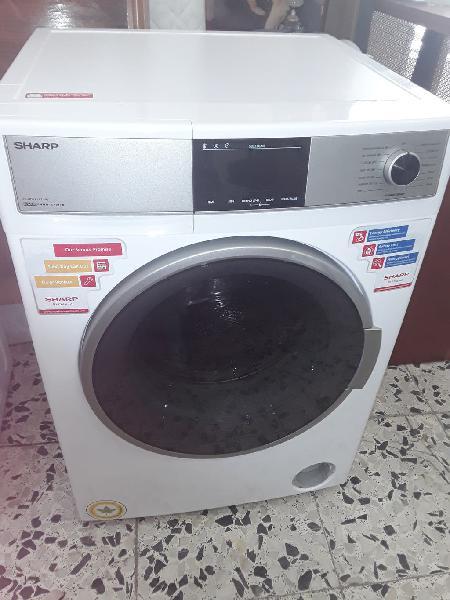 Lavadora/secadora sharp