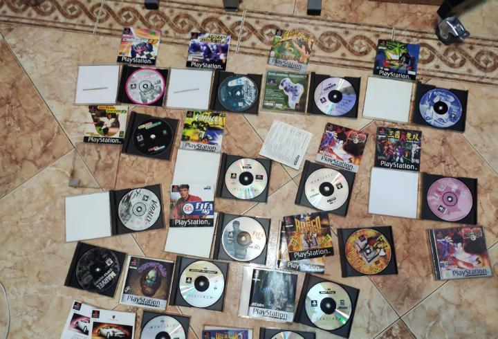 Lote de videojuegos ps1 (leer descripción por favor)