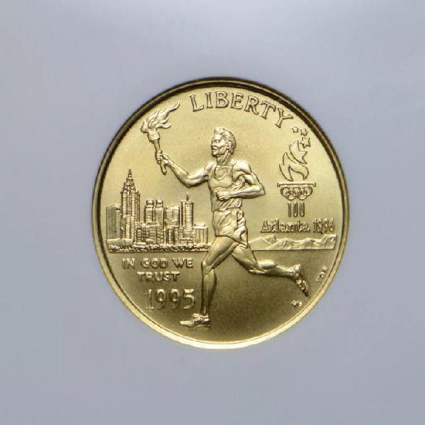 Moneda oro conmemorativa estados unidos 5$