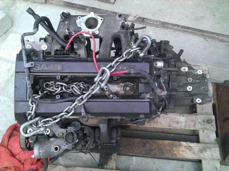 Motor b235 saab 9-5 2.3 turbo 95