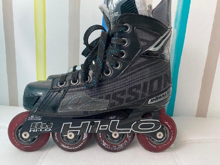 Patines hockey mision inhaler ds5 junior t36