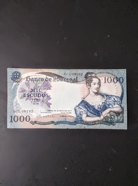 Portugal 1.000 escudos.