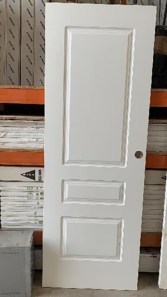 Puerta para corredera lacada en blanco 72cm