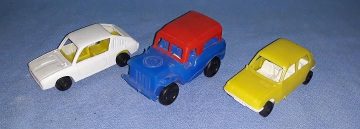 Renault 17 ts renault 5 de vam y un jeep originales años 70