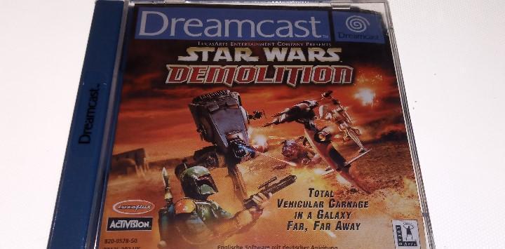 Sega dreamcast star wars demolition