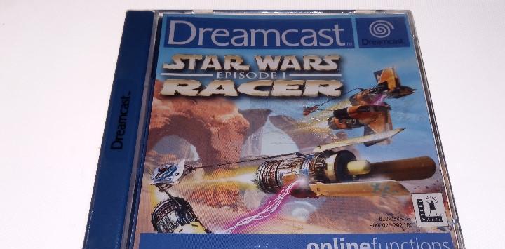 Sega dreamcast star wars racer
