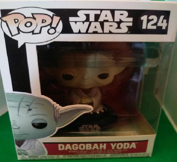 Star wars yoda funko pop 124 degobah yoda