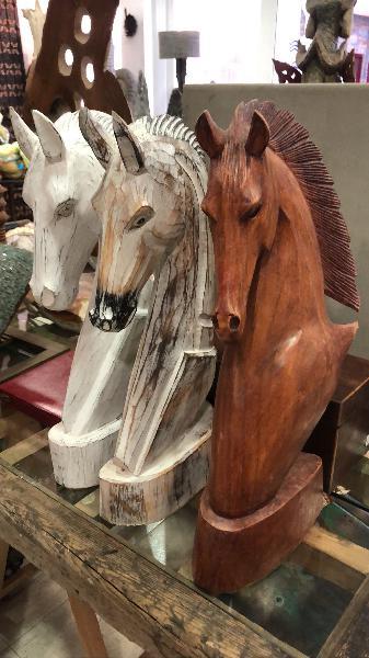Tallas caballos balineses