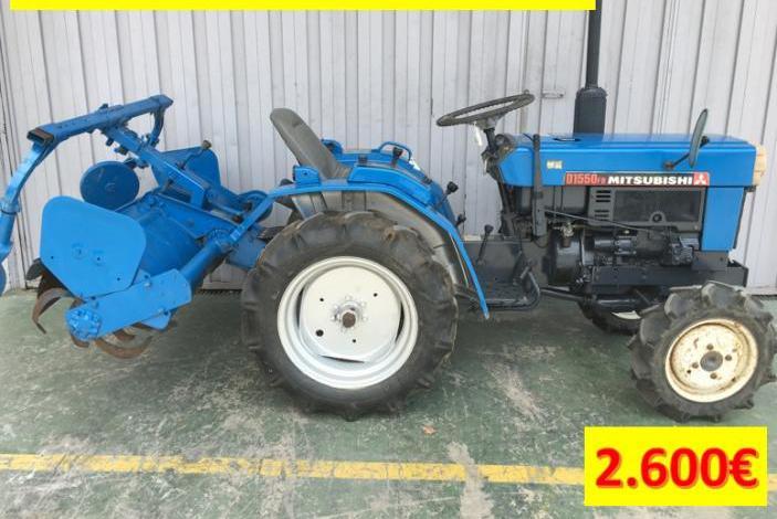 Tractor ideal para parcelas pequeñas mitsubishi
