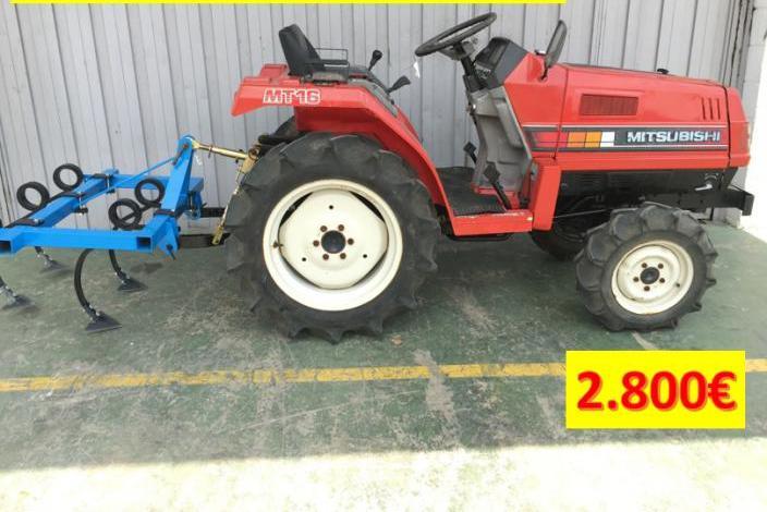 Venta de mini tractor de ocasión segunda mano mitsubis