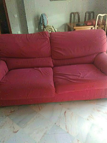 Sofá cama con todas las fundas de montable más sof