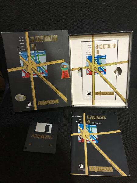 Software commodore amiga 3d construction kit