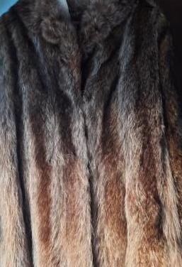 Abrigo/chaquetón piel de marmota